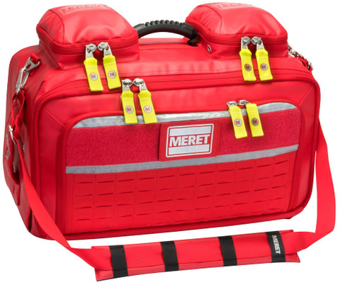 Meret OMNI PRO BLS/ALS Total System Bag - ICB - Red