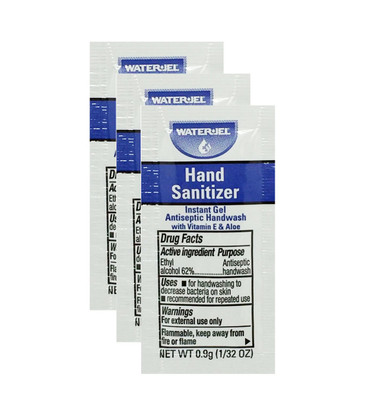 Water Jel Hand Sanitizer - .9G Packets