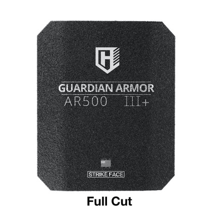 GUARDIAN AR500 BODY ARMOR - LEVEL III+ Full Cut with Rhino Spall Liner