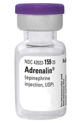 Adrenalin Injection Epinephrine 1mg/mL - 30mL
