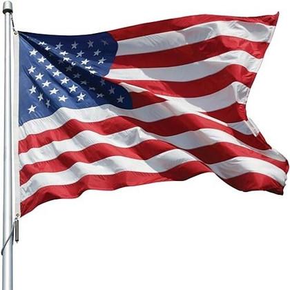 USA Nylon Flag - 4.5' X 2.75'
