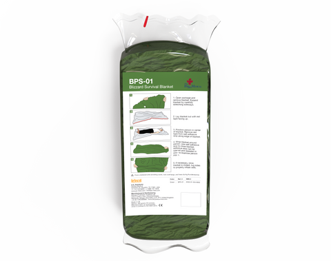 PerSys Blizzard Survival Blanket - Green