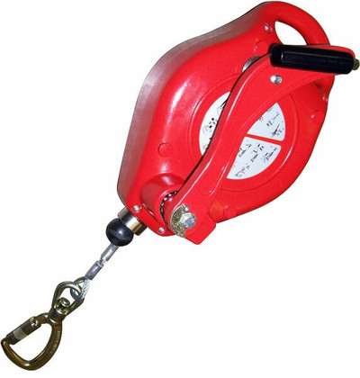 Fall Protection Lifeline with Recovery Winch