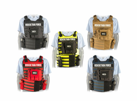 NAR Rescue Task Force Vest With IFAK Kit & Side Armor