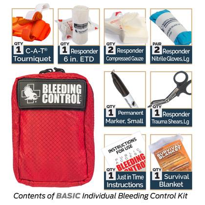 Public Access Bleeding Control 8-Pack - Nylon - Intermediate