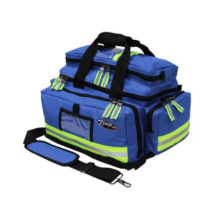 KEMP Large Professional Trauma Bag blue