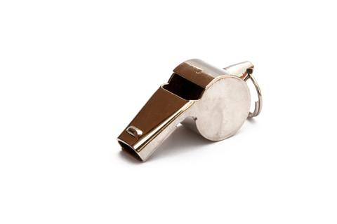 KEMP Metal Pea Whistle - 12 Pack