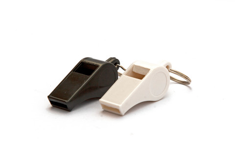 KEMP Plastic Pea Whistle - 12 Pack