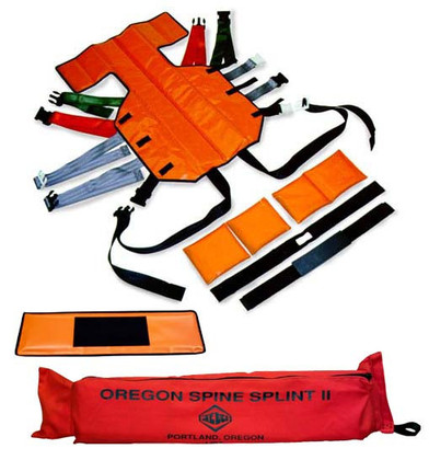 Skedco Oregon Spine Splint II Complete - Orange