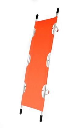 KEMP Folding Pole Stretcher - Orange