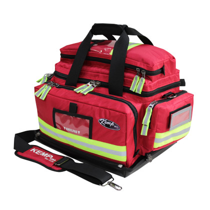 KEMP Large Professional Trauma Bag red