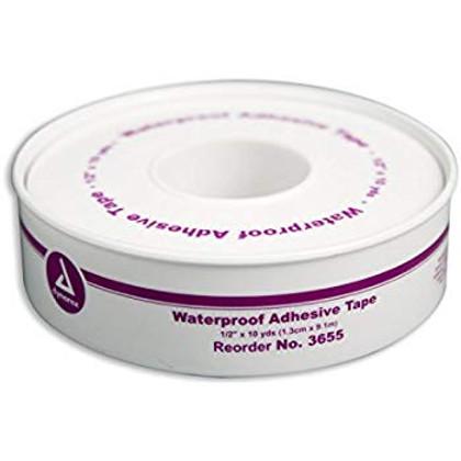 """Dynarex Waterproof Adhesive Tape 1/2"""" x 10 Yds"""