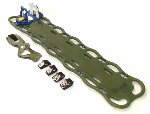 Laerdal BaXstrap Spineboard -Olive Drab