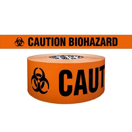 """Caution Biohazard"" - Barricade Tape"