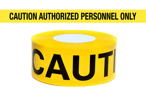 """Caution Do Not Enter"" - Barricade Tape"