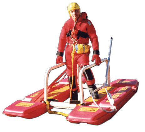 Rescue Alive Ice Rescue Sled with Person