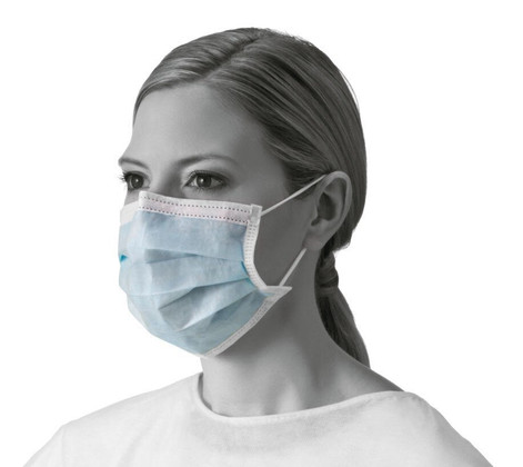 Basic 3-Ply Procedure Face Masks with Earloops