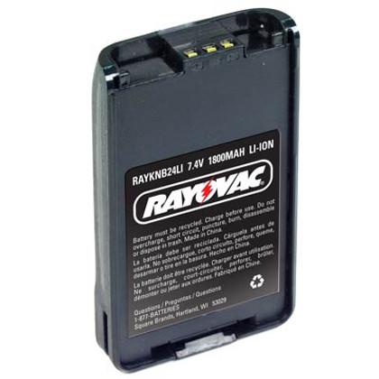 Kenwood Rayovac TK2140 Li Ion Radio Battery