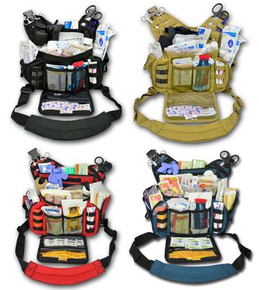 Lightning X Tactical Shoulder Sling Pack - Full Kit -  All Colors
