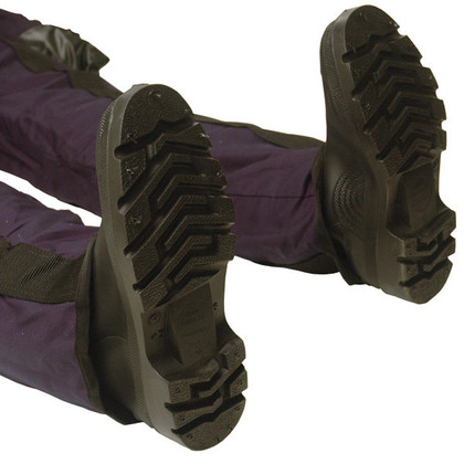 Ruth Lee Training Manikin Replacement Boots - Adult - On Manikin