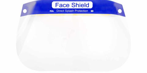 Disposable Face Shield With Foam