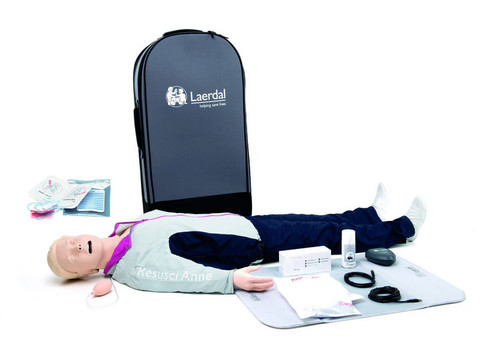 Laerdal Resusci Anne QCPR AED AW Full Body - Rechargeable