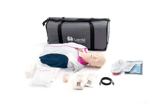 Laerdal Resusci Anne QCPR AED Torso - Rechargeable