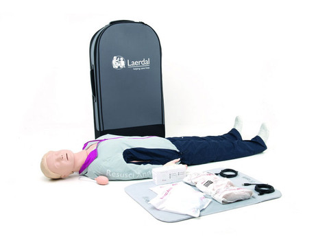 Laerdal Resusci Anne QCPR Full Body - Rechargeable
