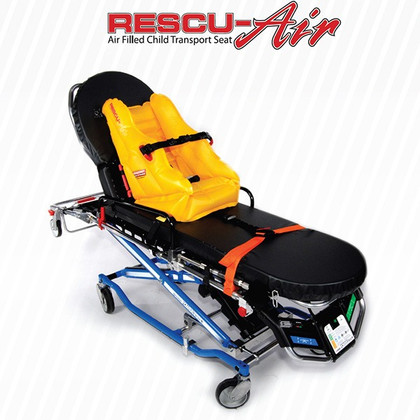 Rescu-Air - Air Filled Child Transport Seat on Stretcher