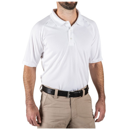 5.11 Tactical Performance Short Sleeve Polo - White