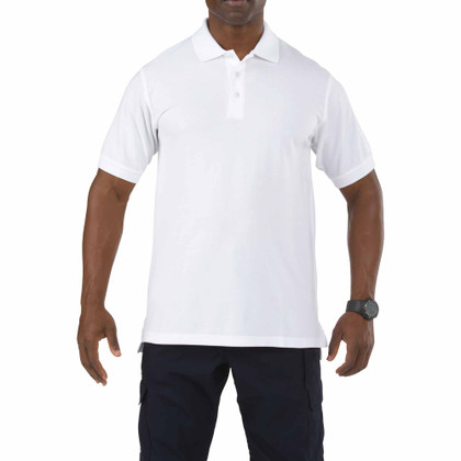 5.11 Tactical Professional Short Sleeve Polo - White