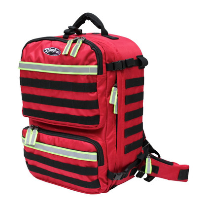 KEMP Rescue And Tactical Backpack - Premium Red Line