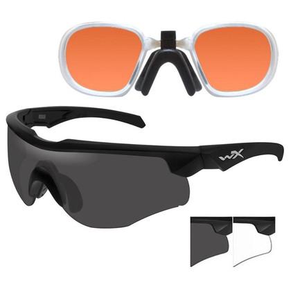 WX Rogue Comm Ballistic Glasses With PTX Laser Lens Insert