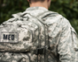 Military Elite Tactical Trauma First Aid Backpack up close