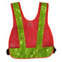 Class 1 LED Safety Vest - Plain Orange