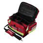 KEMP Large Professional Trauma Bag red open