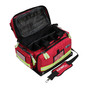 KEMP Large Professional Trauma Bag red open front
