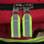 KEMP Large Professional Trauma Bag red zippers
