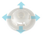 SAM Medical Chest Seal - Combo vent