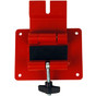 Fall Protection Lifeline with Recovery Winch - Mounting Bracket - Open