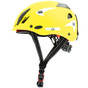 Kong Mouse Work Helmet - Soft Touch Finish - Reflective Yellow