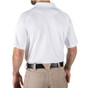 5.11 Tactical Performance Short Sleeve Polo - White - Back