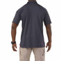 5.11 Tactical Performance Short Sleeve Polo - Charcoal - Back