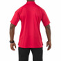 5.11 Tactical Performance Short Sleeve Polo - Range Red - Back