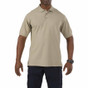 5.11 Tactical Professional Short Sleeve Polo - Silver Tan