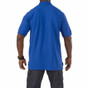 5.11 Tactical Professional Short Sleeve Polo - Academy Blue - Back