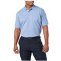 5.11 Tactical Professional Short Sleeve Polo - Fire Med Blue