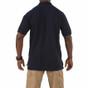 5.11 Tactical Professional Short Sleeve Polo - Dark Navy - Back