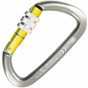 Kong Guide Screw Sleeve Carabiner - Titanium/Yellow Poished