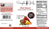 Simple Girl Hot Sauce Nutrition Facts